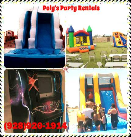 Poly's Party Rentals (Water Slides, Jumpers, Rokolas ...